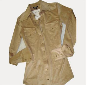 camicia denny rose color beige