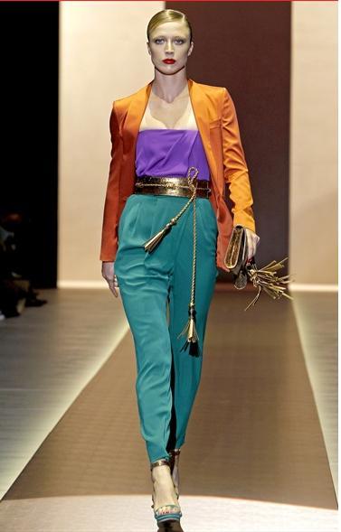Gucci - primavera estate 2011 - colori fluorescenti