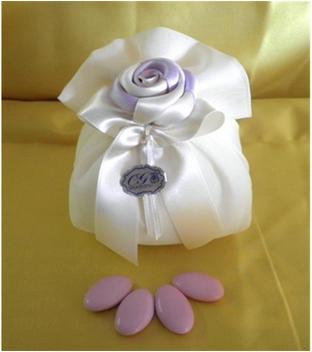 bomboniere - saccotto rosa