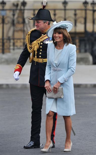 look degli invitati al matrimonio reale
