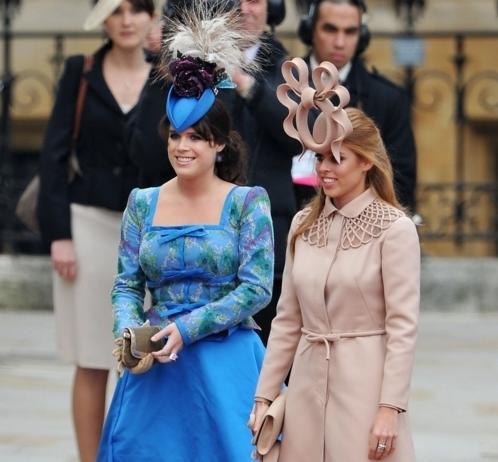 look degli invitati al matrimonio reale - sorelle Ferguson