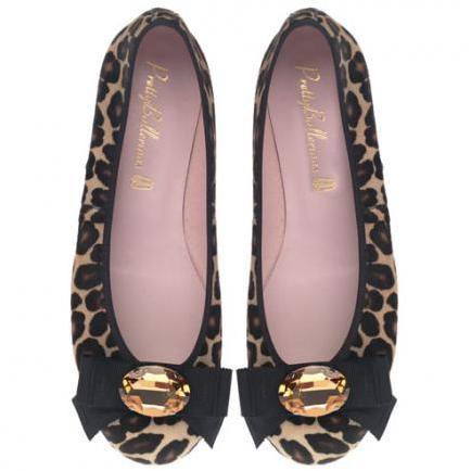 scarpe estate 2011 - ballerine leopardate
