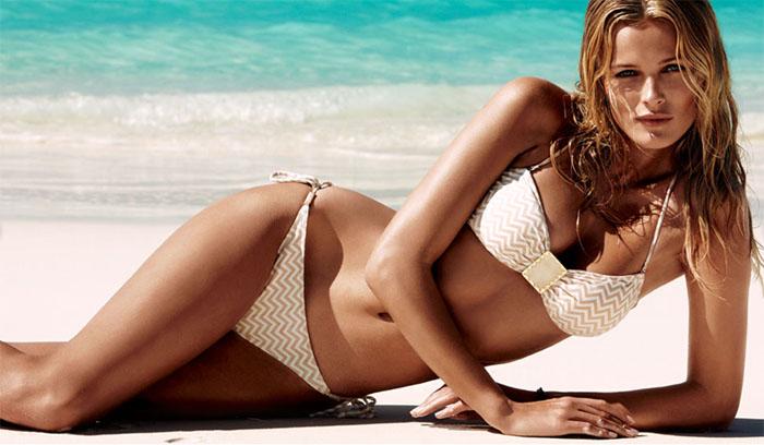 moda mare 2011 - bikini H&M