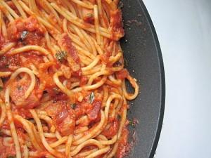 ricetta spaghetti amatriciana