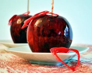 dolci halloween - mele caramellate