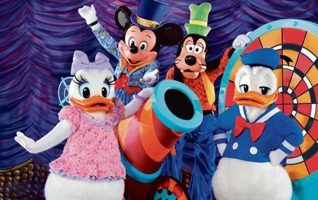 magico show di topolino - favole disney