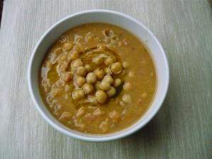 zuppa castagne ceci