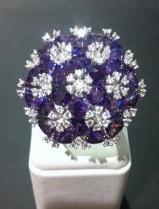 anello argento zirconi - idee regalo natale 2011