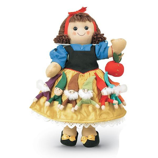 bambola my doll - biancaneve 7 nani