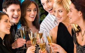 dieta champagne - feste natalizie