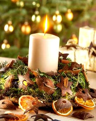 centrotavola autunnali addobbi fai da te : Come realizzare splendidi centrotavola natalizi Blog ShoppingDONNA ...