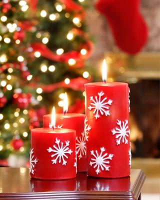 Decorare candele natalizie regalo natale originale - Decorare candele per natale ...