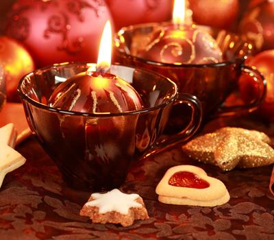 Decorare candele natalizie regalo natale originale for Regalo di natale originale