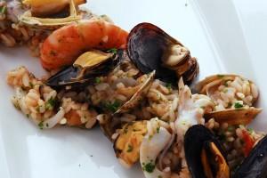 ricetta risotto pescatora - cena vigilia natale