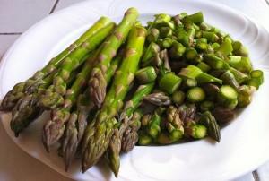 ricette delle feste - quiche salmone asparagi