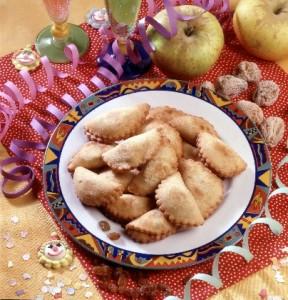 dolci carnevale - ravioli dolci
