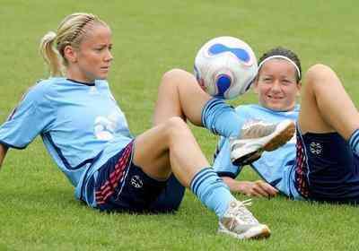 Donne calcio - tifose calcio donne