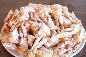 ricetta chiacchiere napoletane - dolce carnevale