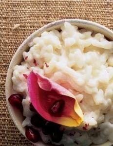risotto alle rose - ricette san valentino