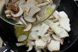 cena san valentino - crema funghi