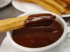churros con cioccolata - ricetta churros