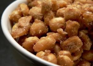 ricetta arachidi caramellate - dolci carnevale