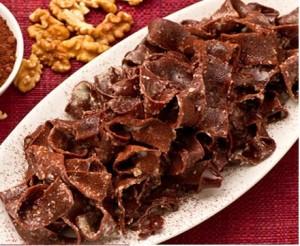 tagliatelle cacao - gorgonzola noci