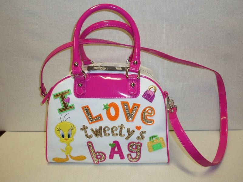 Borsa Looney Tunes Braccialini Lovely_Tweety_bianca