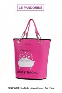 Borse Le Pandorine collezione Primavera Estate 2012 – Linea Secchiello