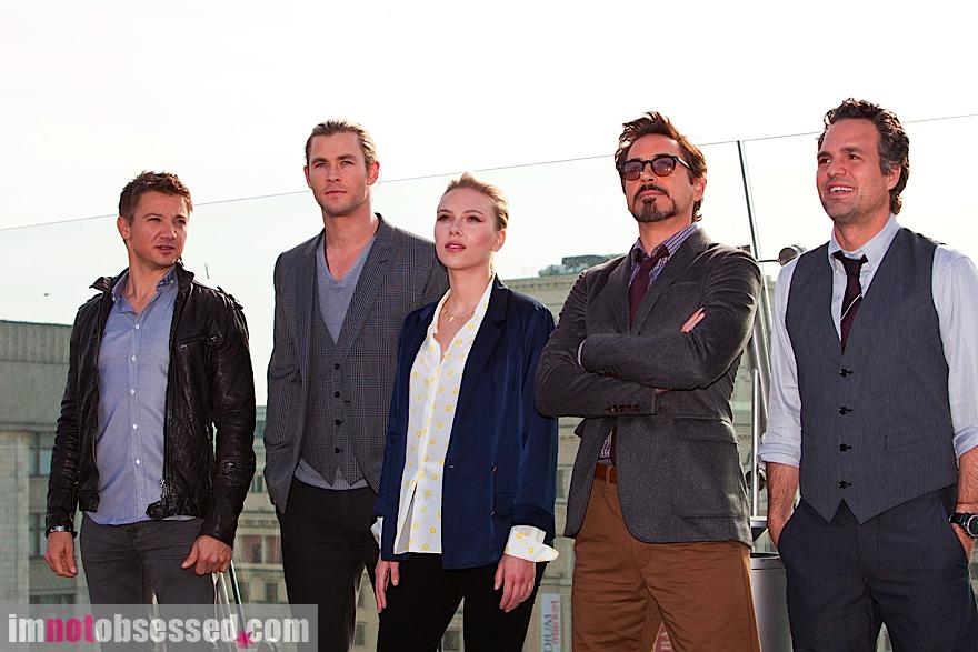 The avengers i supereroi invadono roma
