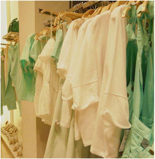 verde acquas e bianco