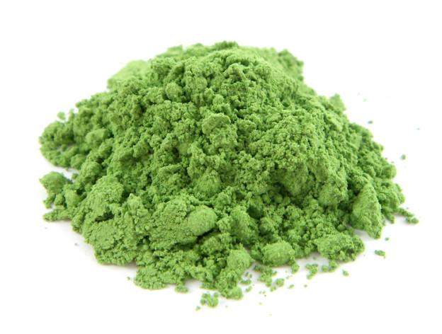 maschera viso al te verde