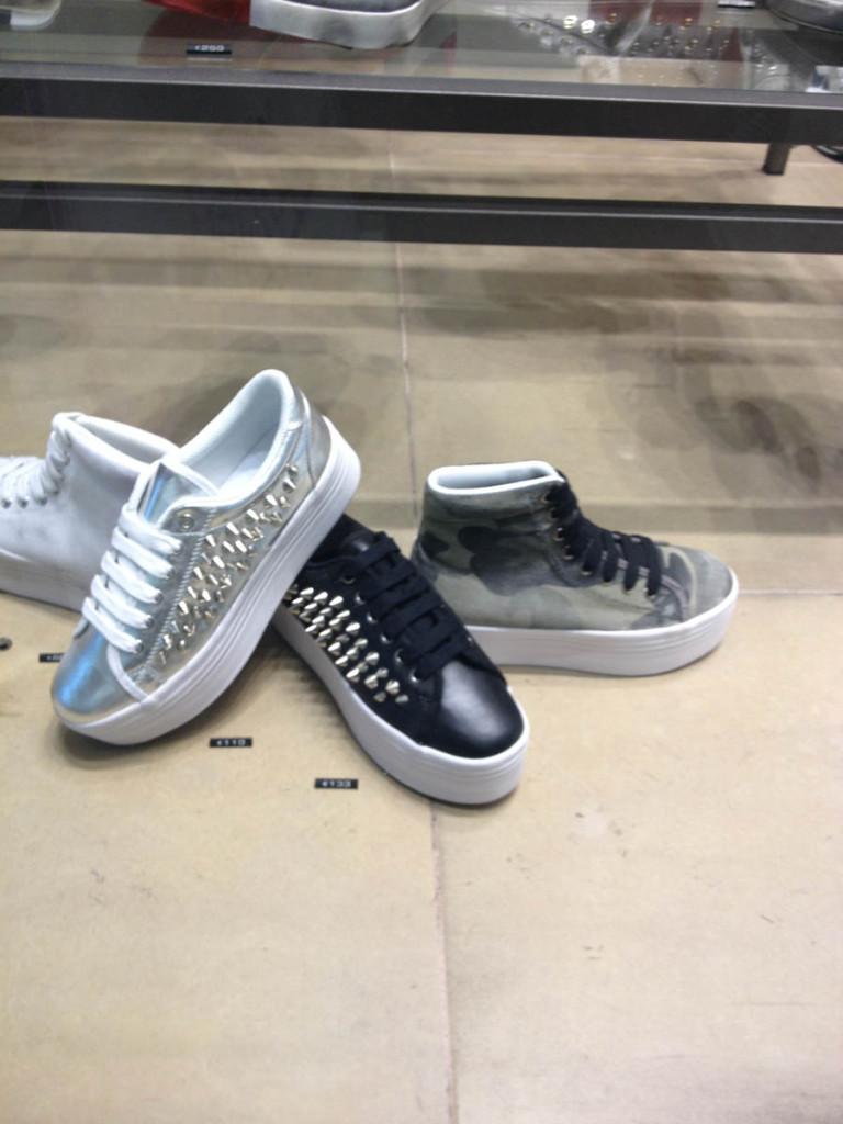 sneakers maxi suola