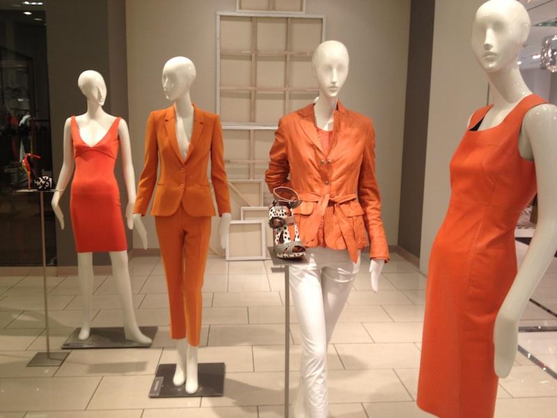 total look arancione