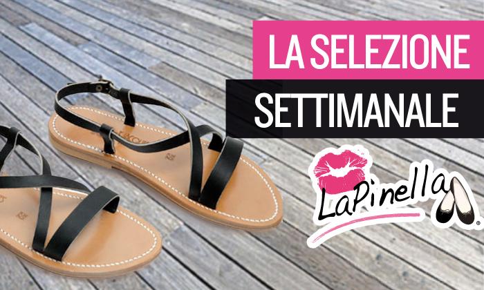 LaPinella sandali flat