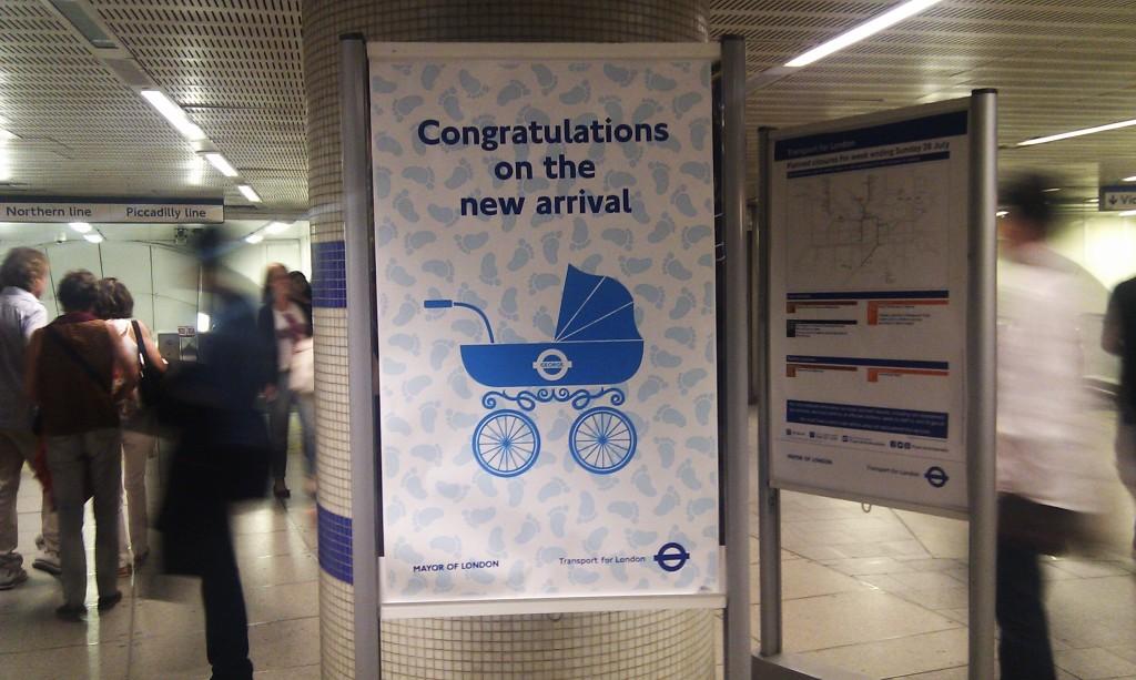 Metropolitana e Royal Baby