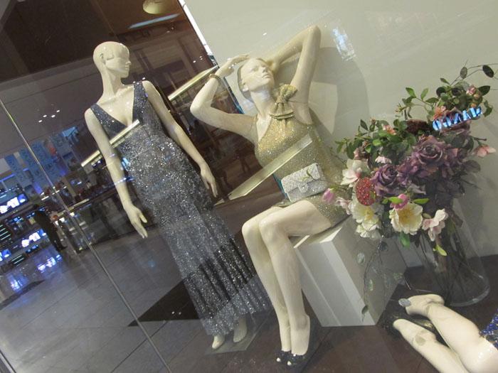 abiti paillettes e fiori