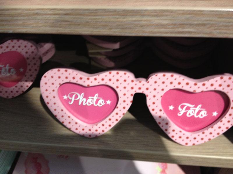portafoto occhiali