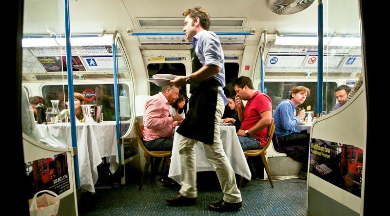 cena sociale metro