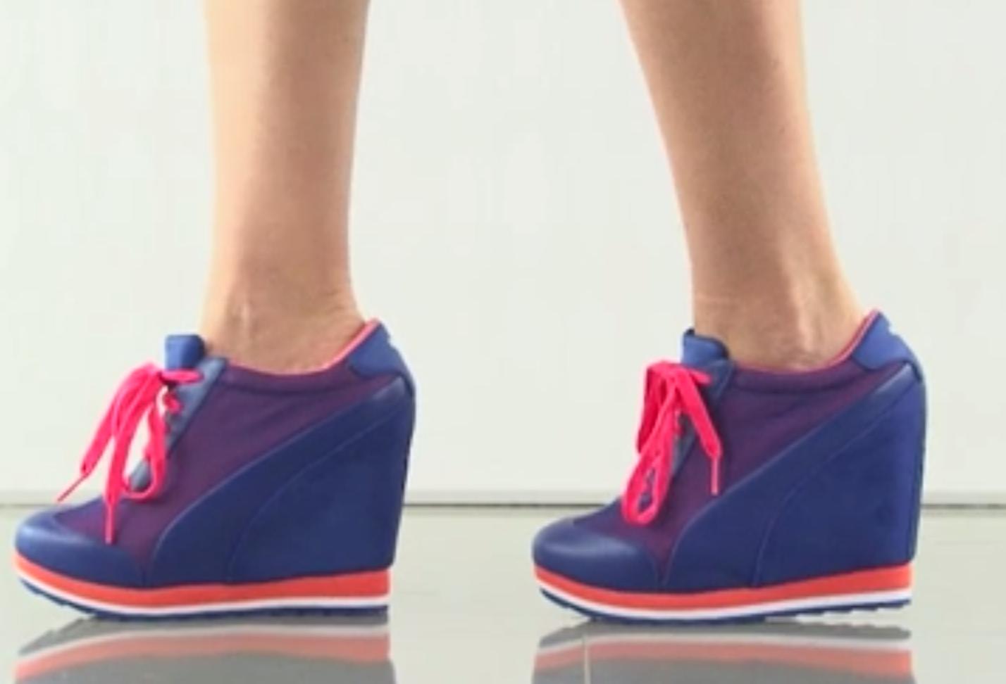 scarpe nike con zeppa