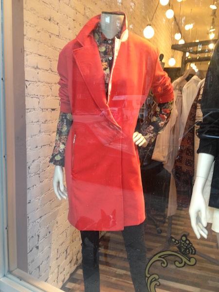cappotto rosso
