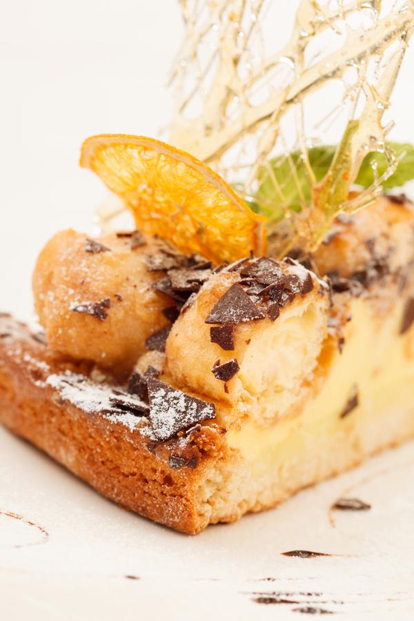 Riciclare il pandoro - torta di pandoro, mele e cioccolato