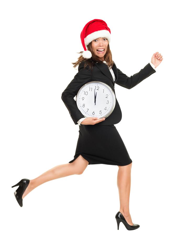 Stress da Natale - mamma stressata