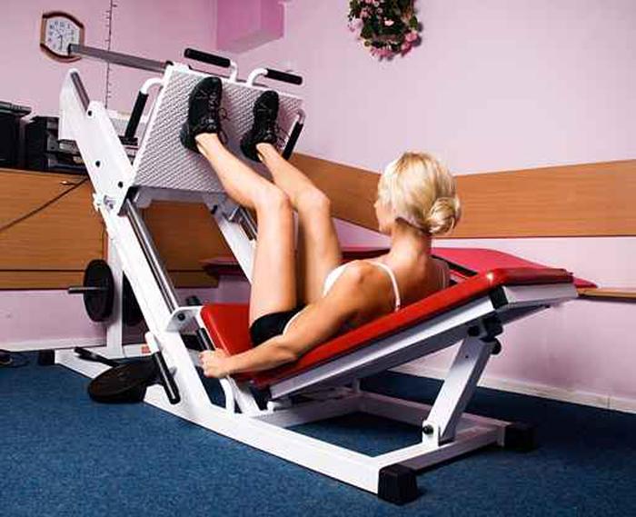Leg Press - Esercizi per dimagrire i polpacci