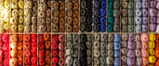 Pitti Filati 74 - Gomitoli colorati