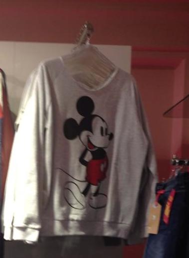 Mickey Mouse felpa