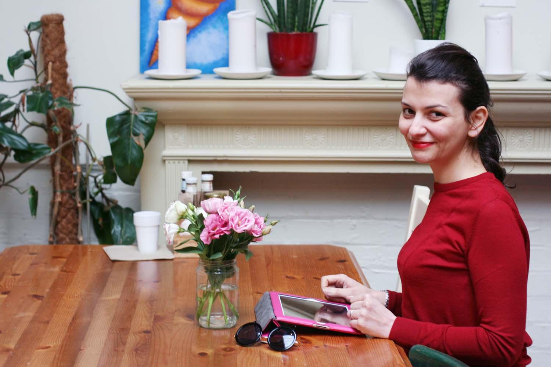 Francesca Farina al lavoro