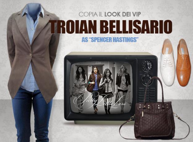 Look Vip Troian Bellisario