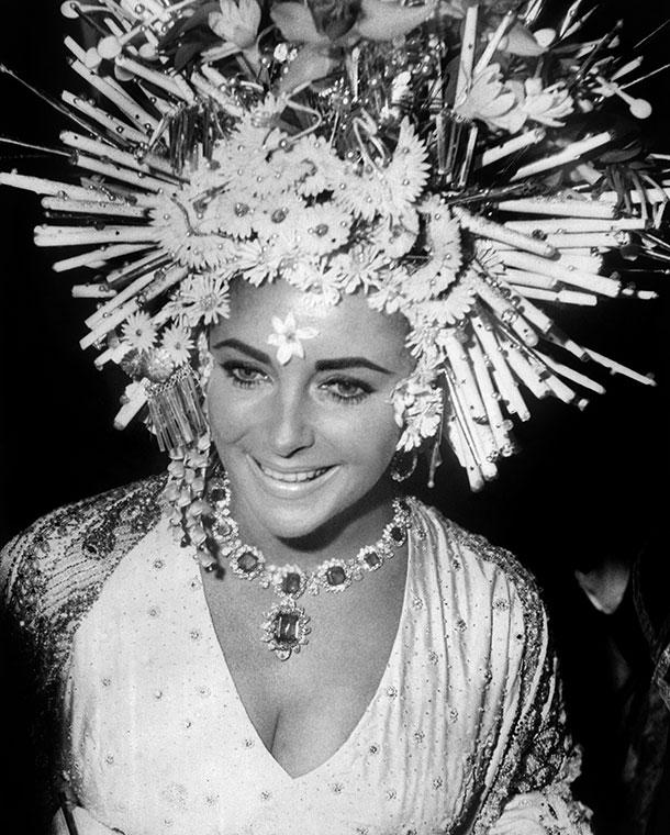 Elisabet Taylor e i gioielli di Bulgari