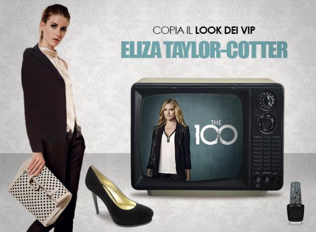Look dei Vip - Eliza Taylor Cotter